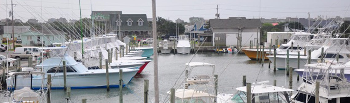 Hatteras Harbor Marina View Three