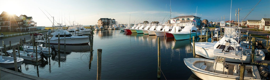 Hatteras Harbor Marina View